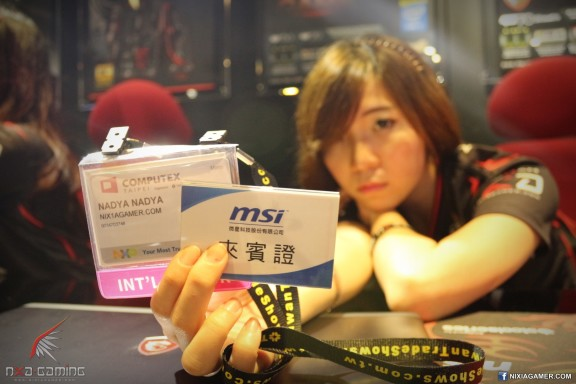 the MSI badge ID