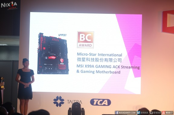 MSI X99A Gaming ACK Best Choice Awards