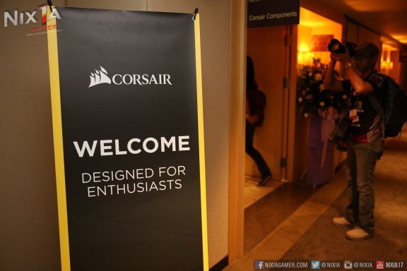 Welcome to Corsair Booth