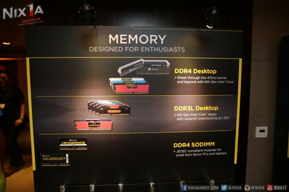 Corsair DDR Memory Products
