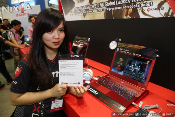 Nix with MSI Ghost Edition Nahimic Enabled Notebook