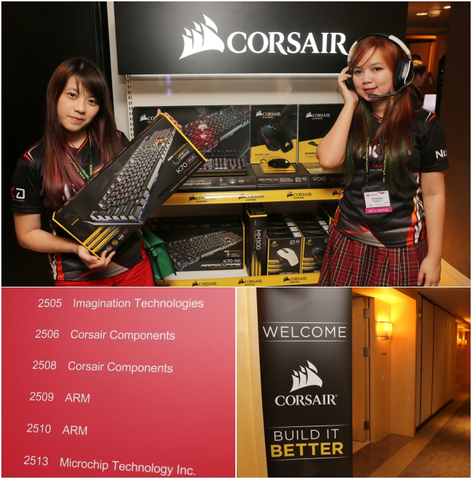 corsair entrance