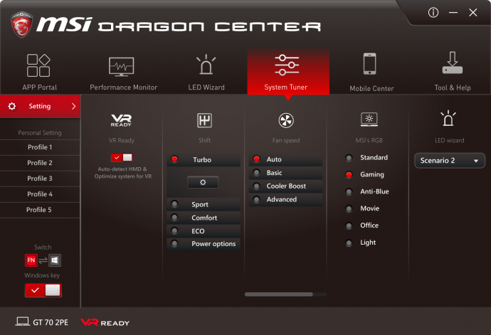 dragon gaming center