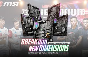 Break Into New Dimensions with MSI Z390